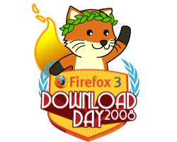 Mozilla Firefox 3 Download Day 2008