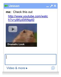 Video dalam Chat