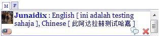 Tulisan Cina Pada MsjBox