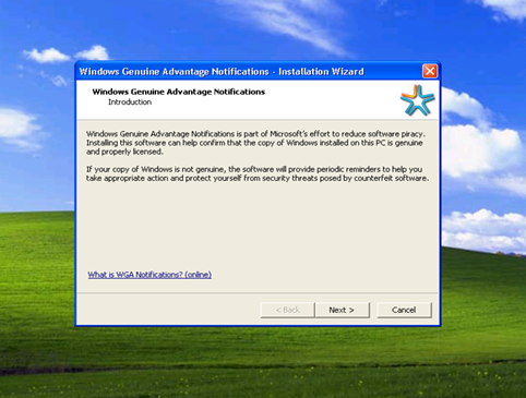 Windows Xp Genuine Advantage Validation Issues Windows Xp Has  Apps