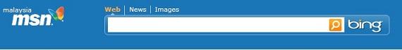 Bing di MSN Malaysia