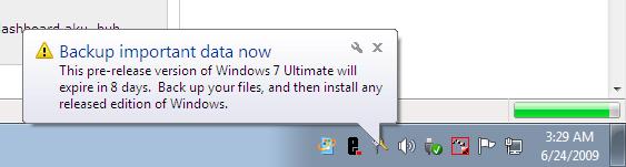 Windows 7 - Tamat