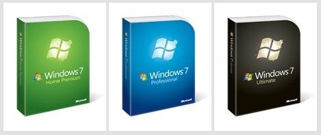 Rekabentuk Pakej Windows 7