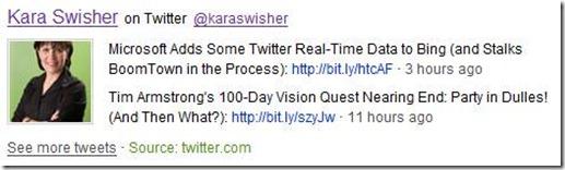 Twitter dan Bing