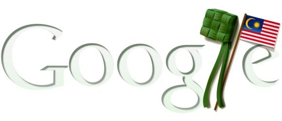 Google Doodle - Merdeka Raya 2011