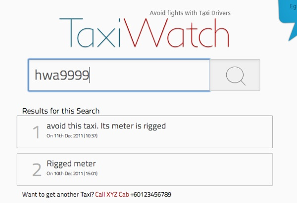 Taxi Watch