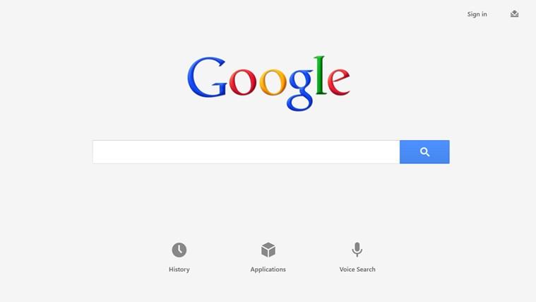 Google Memperkenalkan Aplikasi Carian Untuk Windows 8