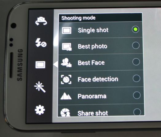 Samsung Galaxy Note 2 - Best Faces