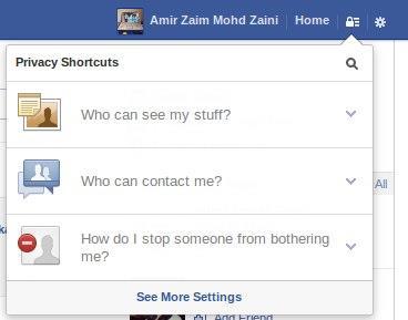 Menu Baru Pada Facebook