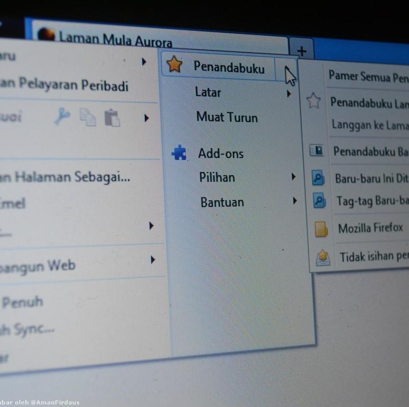Firefox Sedia Diuji Dalam Bahasa Malaysia Pada Saluran Aurora