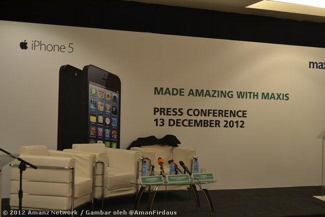 Maxis iPhone 5