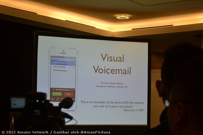 Maxis Visual Voicemail