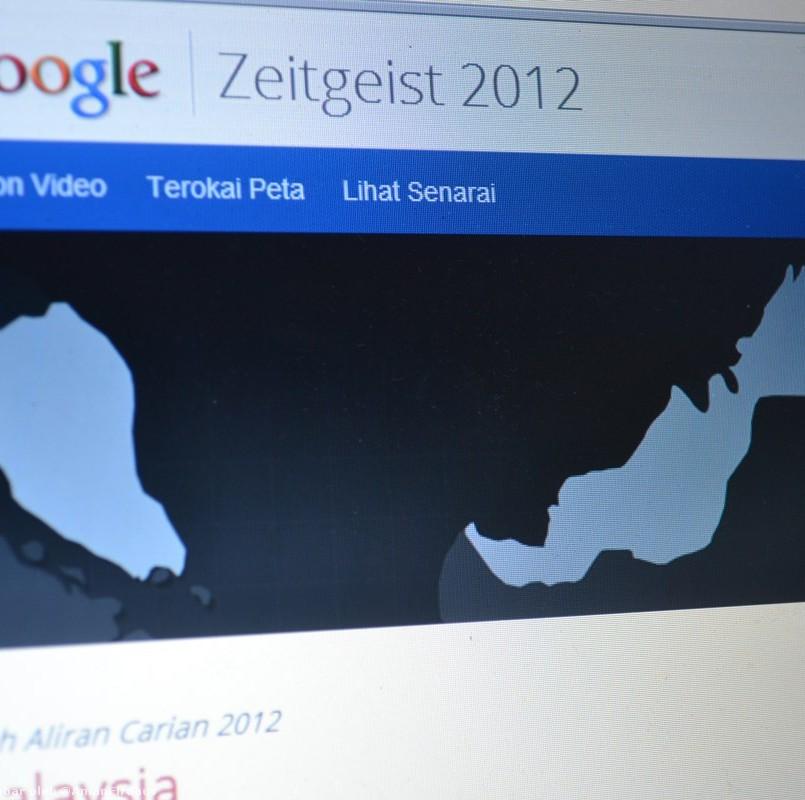 Google Mengeluarkan Senarai Carian Terhangat Sepanjang Tahun Melalui Zeitgeist 2012