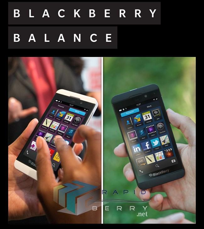 BlackBerry Balance