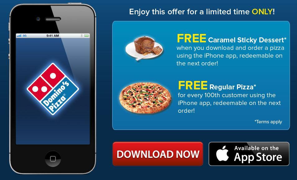 Aplikasi Domino's Pizza Malaysia