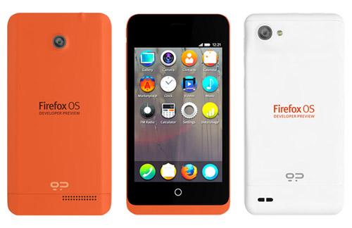 FirefoxOS - GeeksPhone