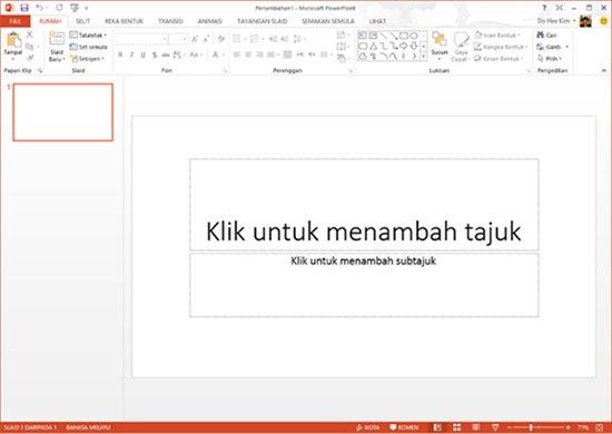 PowerPoint 2013 - Bahasa Malaysia