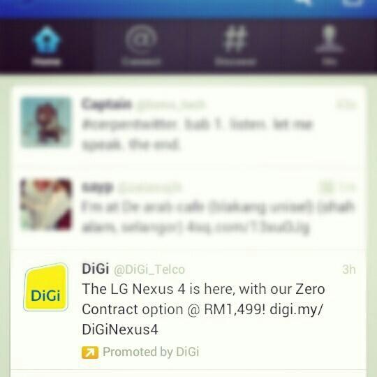 Twitter - DiGi Promoted Tweets