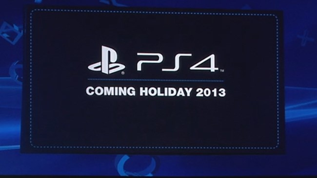 PlayStation 4 - 2013
