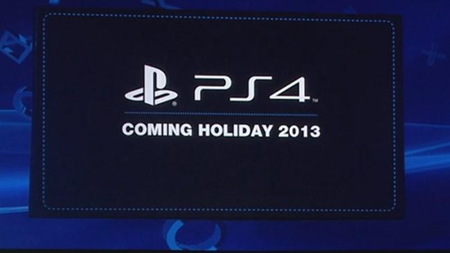 PlayStation 4 - 2013