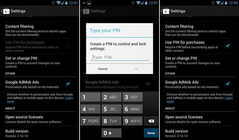 Android - Kawal In-App