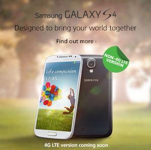 Maxis Galaxy S$ LTE