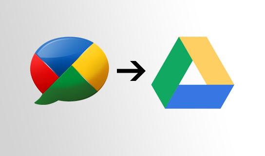 Google Buzz - Drive