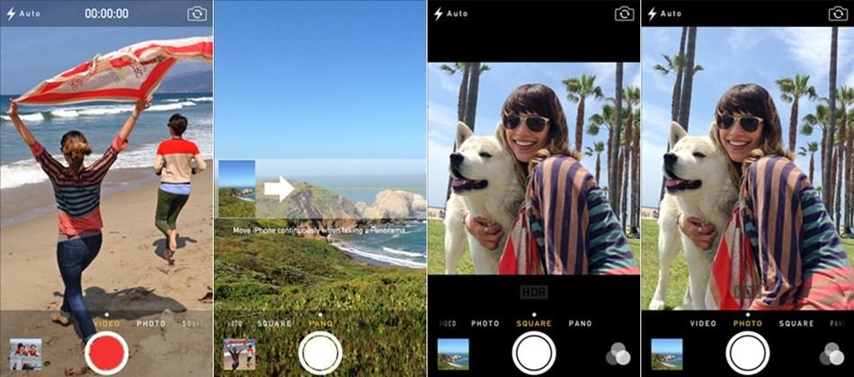 iOS 7 - Kamera
