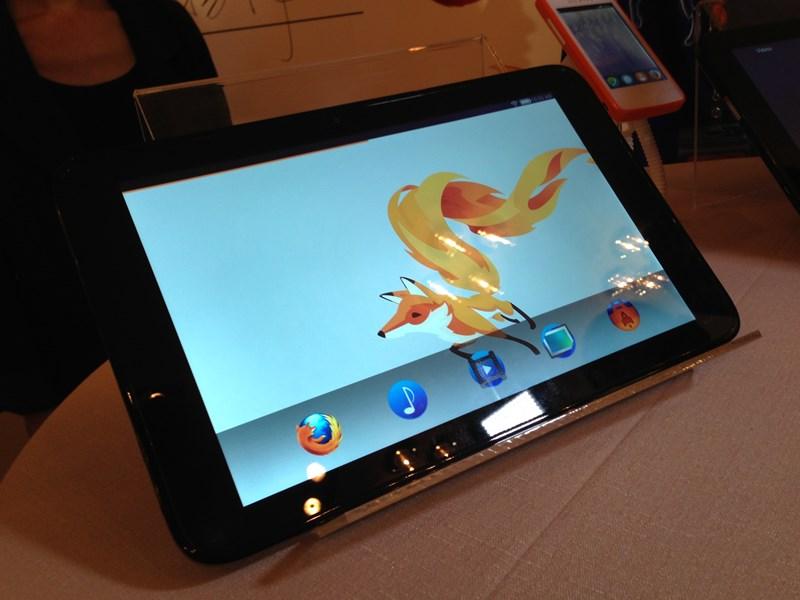 Prototaip Tablet Firefox OS