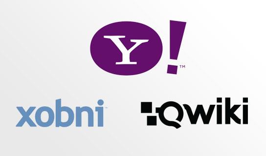 Yahoo! - Xobni dan Qwiki