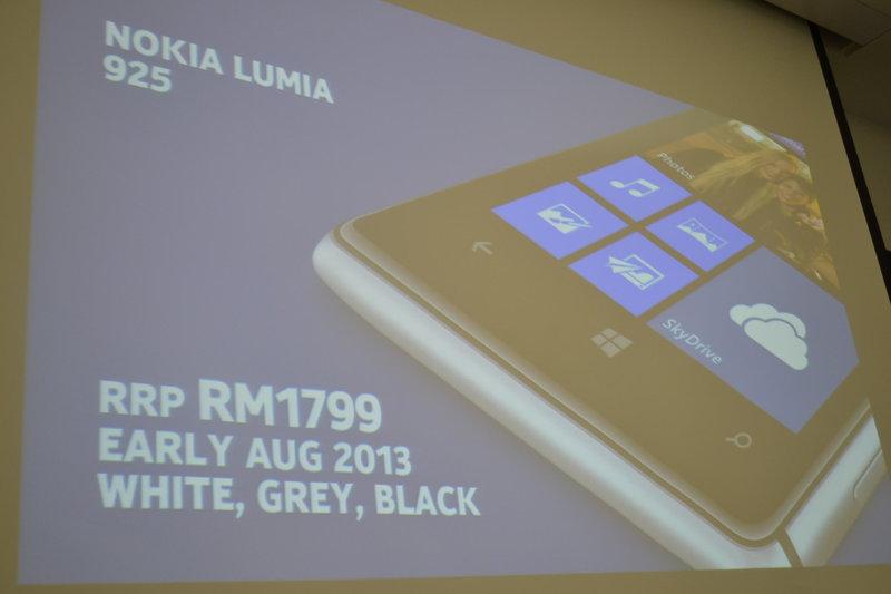 Lumia 925 - Harga