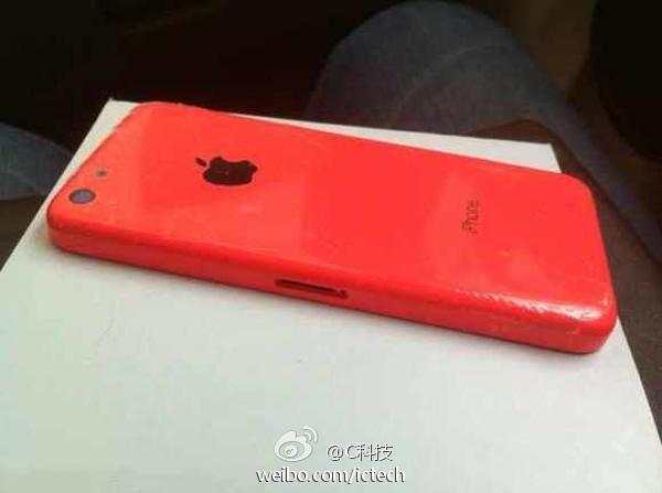 iPhone 5C Merah