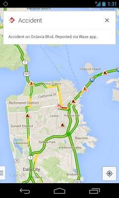 Google Maps - Waze