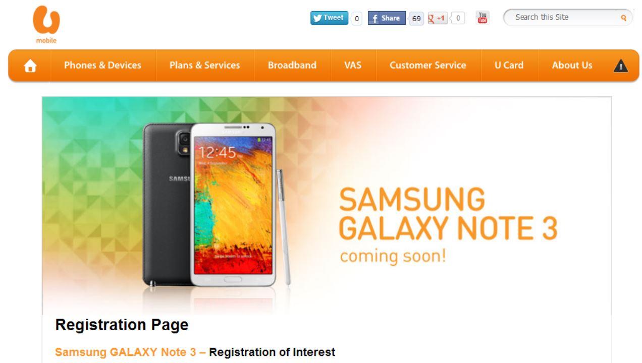 UMobile - Galaxy Note 3