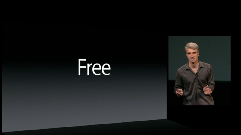 Versi Akan Datang OS X Akan Ditawarkan Secara Percuma