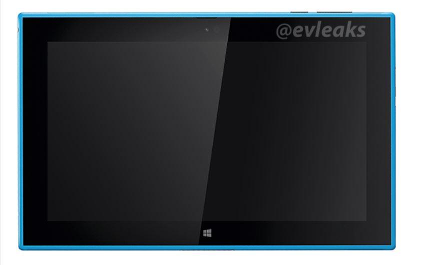 Lumia 2520 Cyan