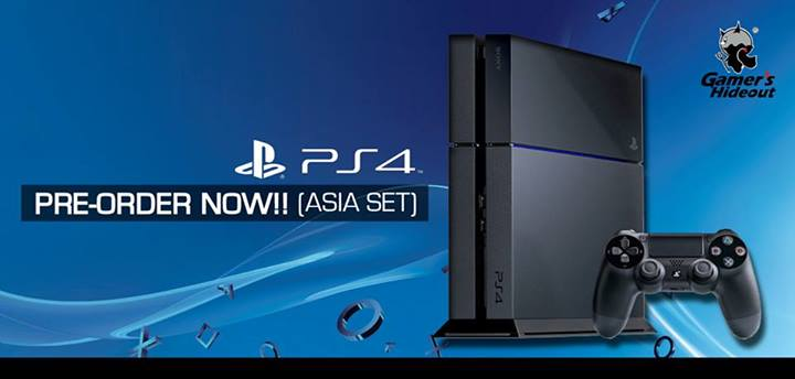 PlayStation 4 Asia