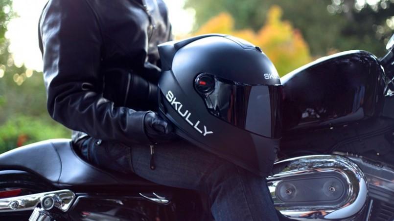 Skully – Topi Keledar Dengan Sokongan AR Dan Berasaskan Android