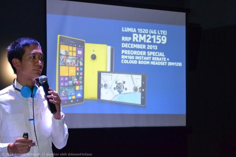 Nokia Lumia 1520 Dilancarkan Secara Rasmi Di Malaysia – Berharga RM2159