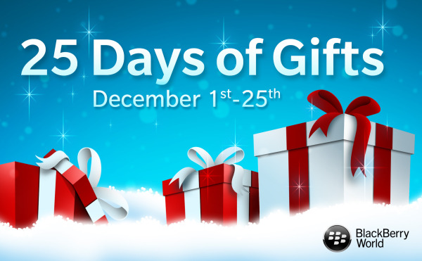 Blackberry 25 Gifts