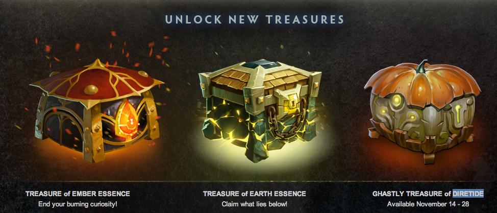 treasure box new