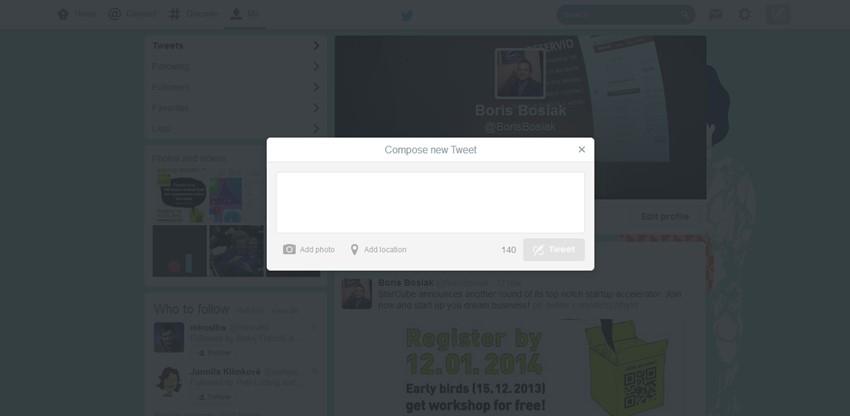 Twitter Web Baru