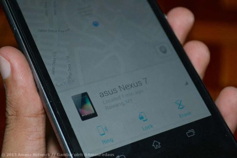 "Google Melancarkan Aplikasi ""Android Device Manager"" Pada Play Store"