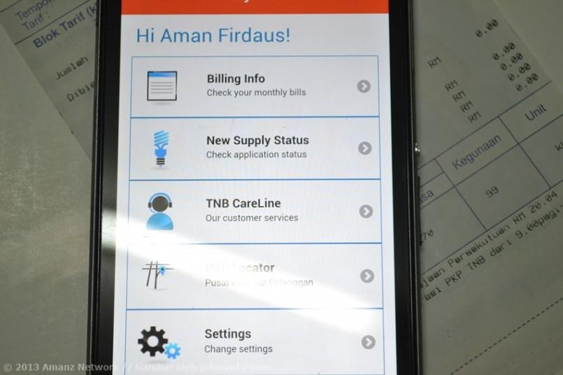 Aplikasi myTNB Membolehkan Anda Memantau Bil Elektrik Anda
