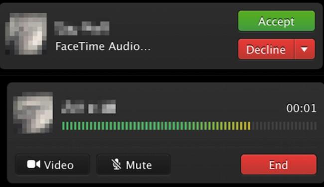 FaceTime Audio OSX