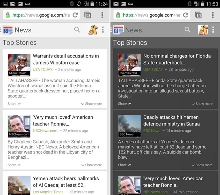 Google News Baru