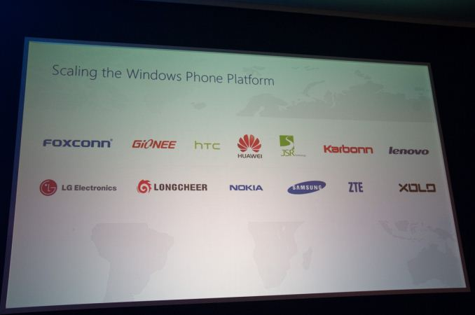 Windows Phone - MWC 2014