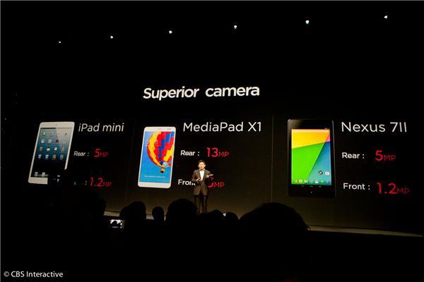 Huawei Memperkenalkan Tablet Dengan Kamera 13-Megapixel – Huawei MediaPad X1