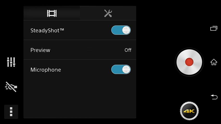 Sony Sirius Kamera