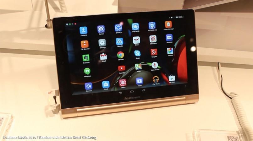 (MWC 2014) Lenovo Yoga 10 HD+